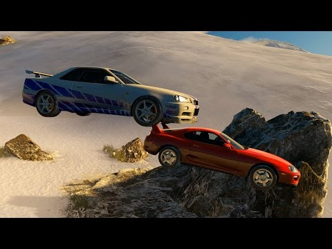 Forza Blizzard Mountain - Part 9 - PAUL WALKER'S R34 MANEUVER