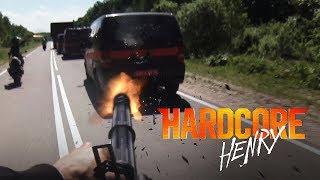 Сцена Лютой Погони С Тяжёлым Пулемётом ™️«Хардкор (2016)»