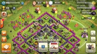 Clash of Clans Rathaus lvl 8 beste Aufstellung