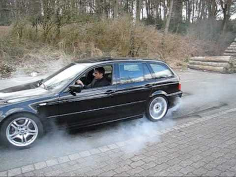 bmw 330i touring burns michelin ps2 youtube. Black Bedroom Furniture Sets. Home Design Ideas