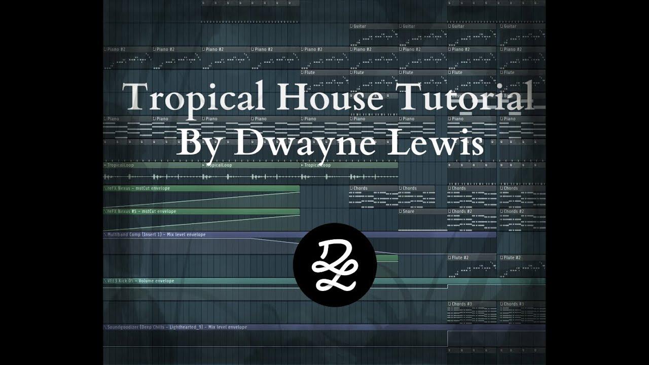 Fl Studio 11 - How to make a nice Tropical House Track