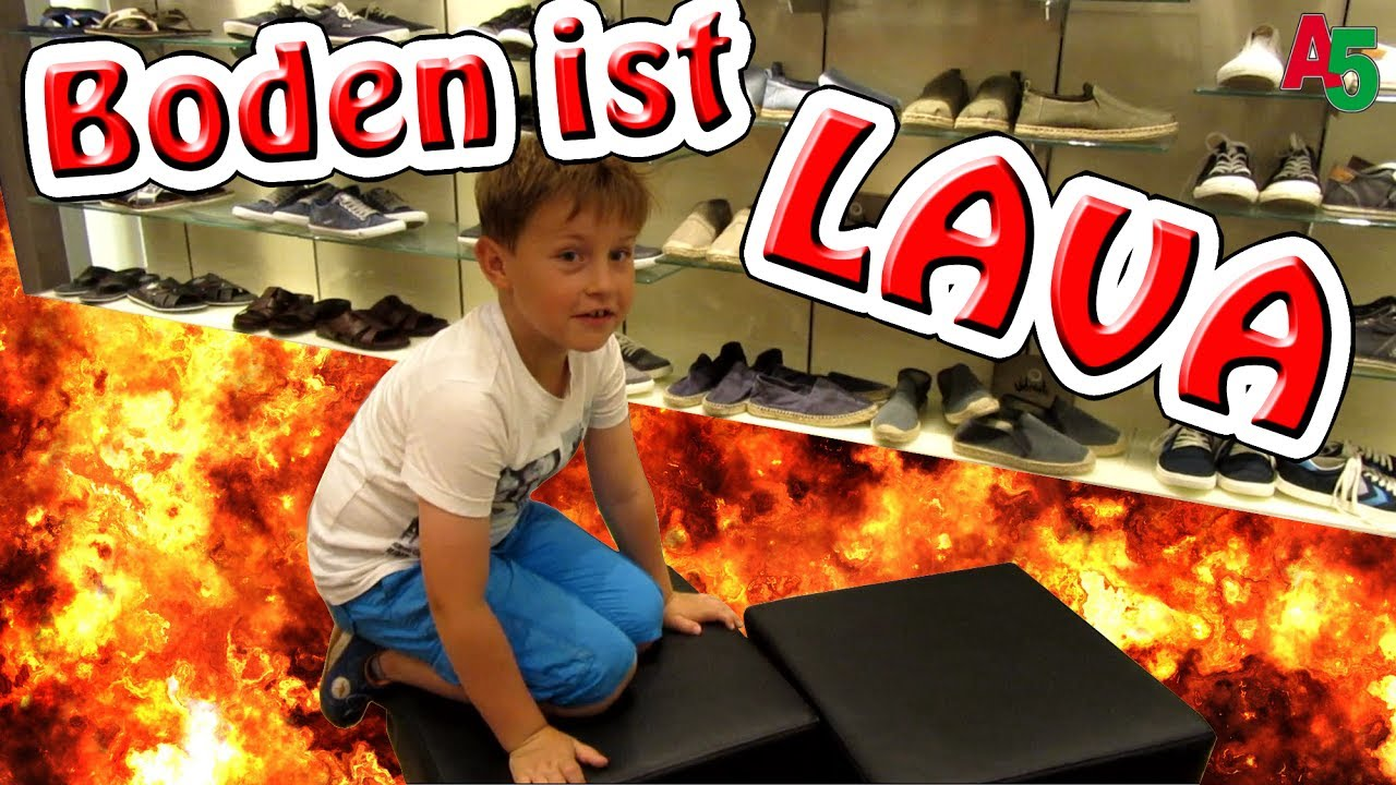 Der boden ist lava ash5ive youtube for Boden ist lava