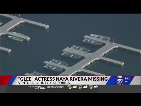 'Glee' star Naya Rivera missing, presumed dead after 4-year-old son found adrift on boat in Lake Pir