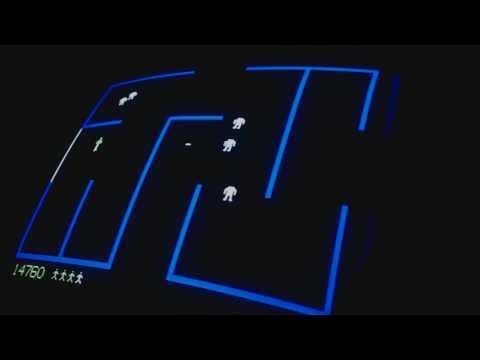 Berzerk Arcade (Fast Bullets) 45,610 - Original Hardware