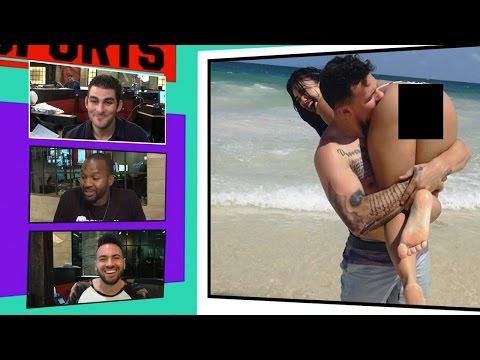Johnny Manziel Takes Bite Out of Bre Tiesi's Butt Cheek | TMZ Sports