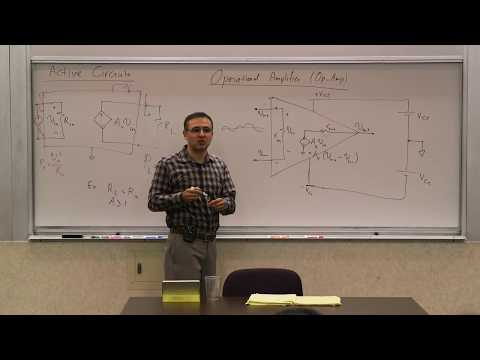 010. Active circuits: Op-Amp, Feedback, Asymptotic Equality, Inverting and non-inverting amplifiers
