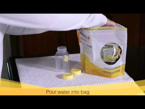 Harmony: Cleaning After Each Use with Quckclean Microsteam Bags