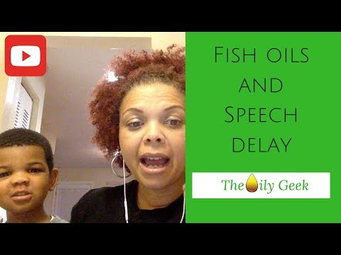 Speech Delay And Fish Oil