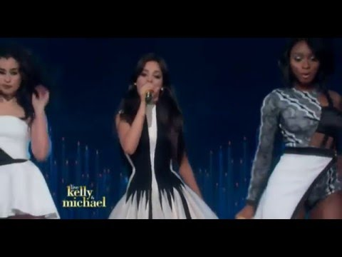 Fifth Harmony performing  Work From Home Live on Kelly and Michael  After Oscar Show #CLBRVideos