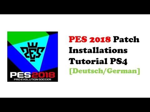 PES 2018 ⚽ PS4 Patch installieren / Optionfile inklusive Bundesliga [Deutsch/German]