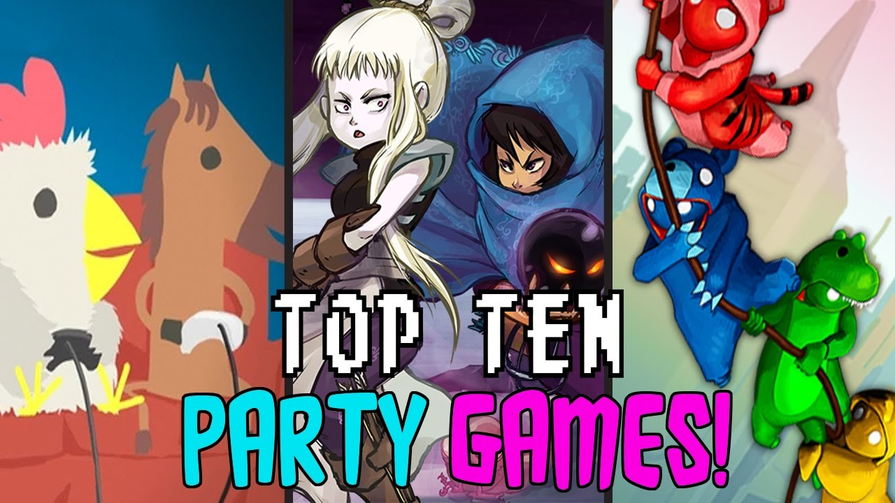 TOP TEN  PARTY GAMES  ON PC    YouTube TOP TEN  PARTY GAMES  ON PC