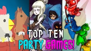 """TOP TEN """"PARTY GAMES"""" ON PC!"""