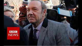 Kevin Spacey in court on groping charge - BBC News
