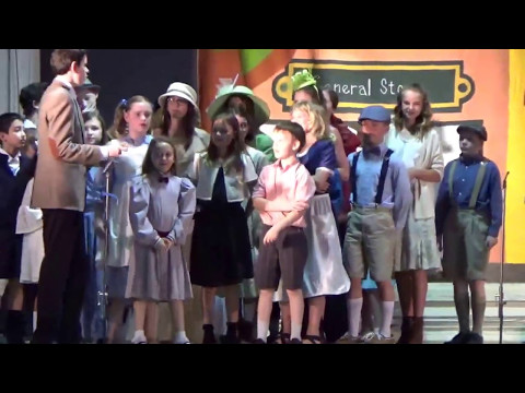 Most Pure Heart of Mary Catholic Schools production of Meridith Willson's, The Music Man Jr.