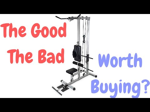 Valor Fitness CB 12 Lat Pull Down Review