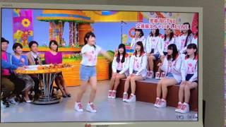 NGT加藤美南がヘビロテ間奏で前宙を披露して大島優子を越える