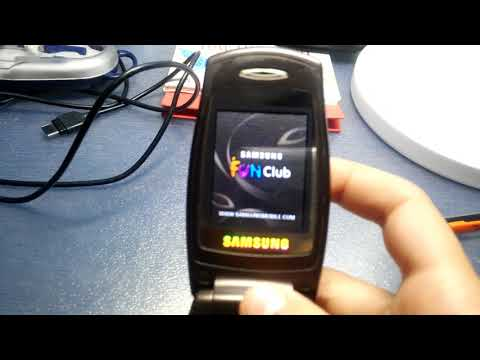 Samsung SGH-E500 on/off sound 2