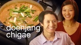 How To Make Doenjang Chigae (korean Stew)   Xoxo Cooks, Ep. 29