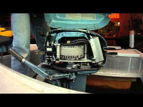Electric outboard part i conversion youtube for Electric outboard motor conversion