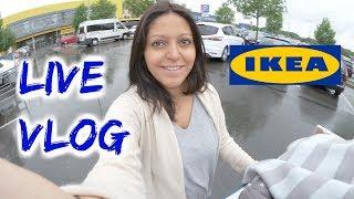 LIVE IKEA VLOG - Kinderleicht Zähneputzen mit Kleinkind  - Vlog#781 Rosislife