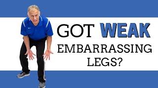 Got Weak Embarrassing Legs? At Home, Resistance Exercises Will Build & Define Leg Muscles screenshot 2