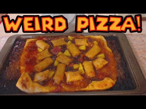 WEIRD Pizza Toppings - Cooking With Mankalor!
