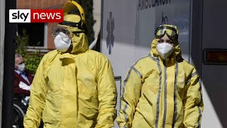 Spain s COVID 19 deaths fall for first time in a week