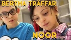 Bertha träffar Noor från Irak: Lätt att lära sig det finska språket