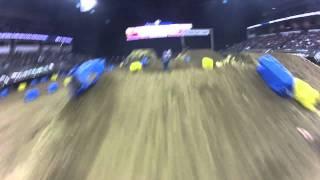 2012 sears centre arenacross helmet cam