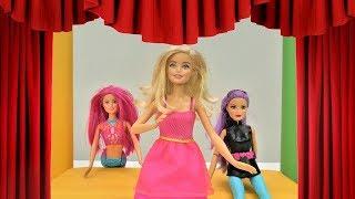 Барби - актриса. Видео для девочек. Мультики с куклами.