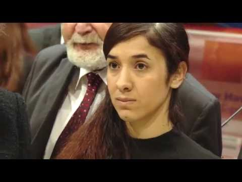 Václav Havel Human Rights Prize - Interview with winner Nadia Murad ENG