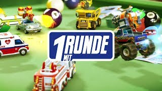 1 Runde mit Micro Machines World Series mit Simon, Gregor, Andy & Viet,