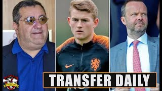 Manchester United & Woodward 'SAY NO' to Matthijs De Ligt because of Mino Raiola's DEMANDS!