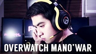 razer OVERWATCH ManO'War TE (Unboxing Review  Mic Test)