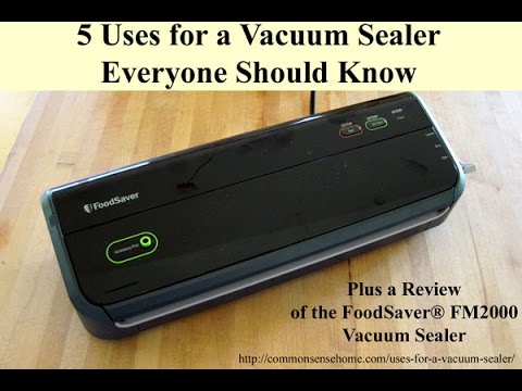 FoodSaver® FM2000 Vacuum Sealer Review