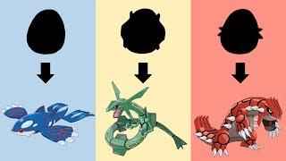 Pokemon Eggs Requests #7: Rayquaza, Kyogre, Groudon