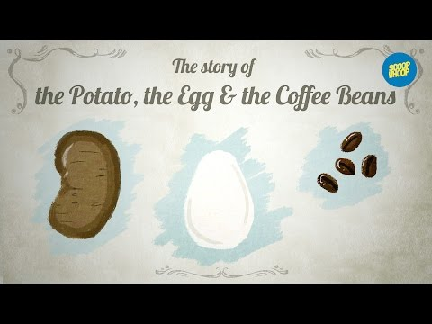 ScoopWhoop: The Potato, The Egg & The Coffee Beans