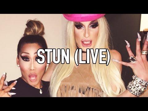 Alaska Thunderfuck - Stun [Ft. Gia Gunn] - (LIVE)