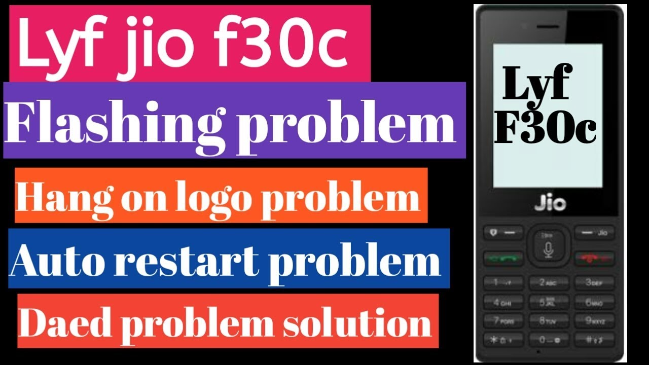 Lyf f30c full flashing done||lyf f30c Daed problem/ auto restart