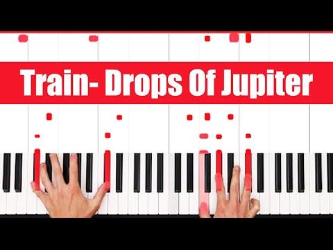 Drops Of Jupiter Train Piano Tutorial - LICK
