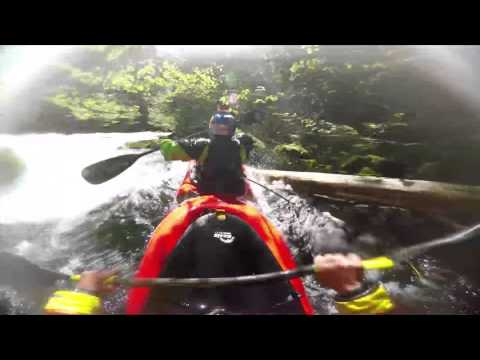 GoPro- Two man kayak down Class 5 whitewater