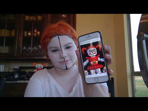 Circus Baby Makeup Tutorial! (Sister Location)