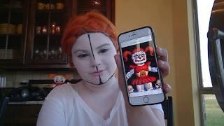Circus Baby Makeup Tutorial! (Sister Location)