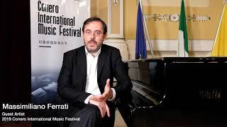 2019 Conero International Music Festival Interview-Massimiliano Ferrati