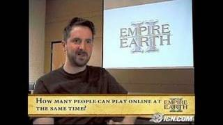 Empire Earth II PC Games Gameplay-Cinematic - Video intro,