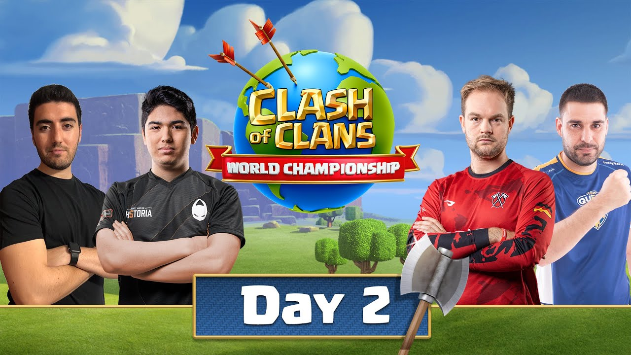 World Championship #4 Qualifier Day 2 - Clash Of Clans