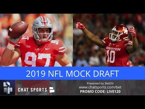 2019 NFL Mock Draft: Initial First Round Projections Featuring Justin Herbert, Nick Bosa & Ed Oliver