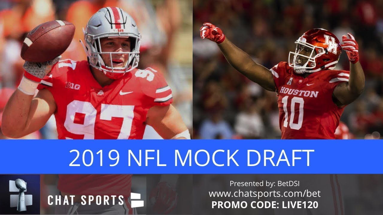 8c7930d7 2019 NFL Mock Draft: Initial First Round Projections Featuring Justin  Herbert, Nick Bosa & Ed Oliver