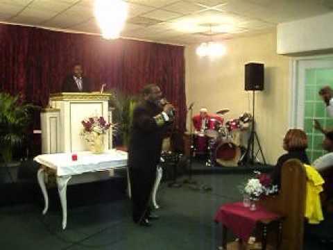 PASTOR HAYWOOD NICHOLAS WILLIAM AT FULL GOSPEL MARCH 28 2012 RIVIERA BEACH FLA