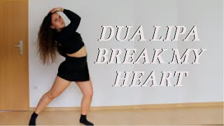 Download Lagu Dua Lipa - Break My Heart DANCE WORKOUT MP3